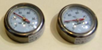磁性模温表